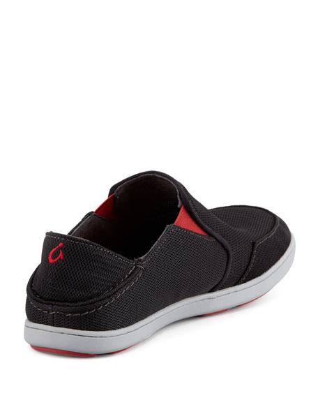 Nohea Mesh Slip-On Sneaker, Black