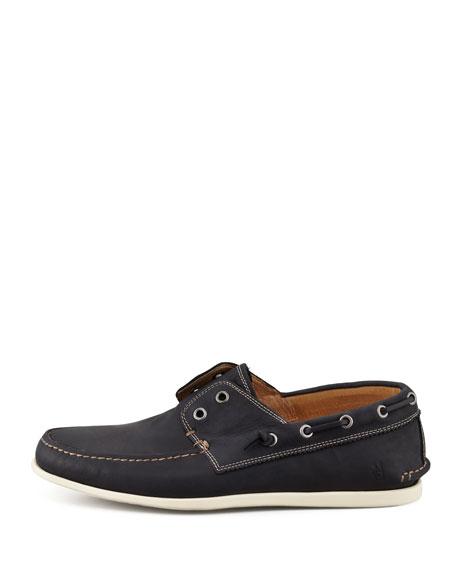 Schooner Boat Shoe, Black