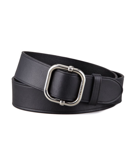 D-Ring Leather Belt