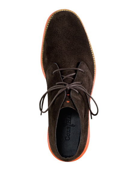 LunarGrand Chukka Boot, Brown/Orange