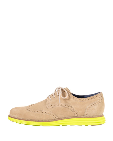 LunarGrand Wing-Tip, Sand/Yellow