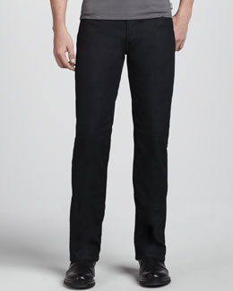 Armani Collezioni Slim Stretch-Denim Jeans, Indigo