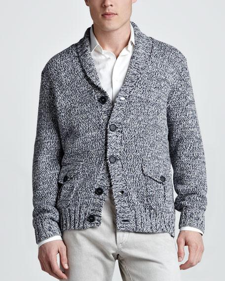 Chunky-Knit Cotton Cardigan