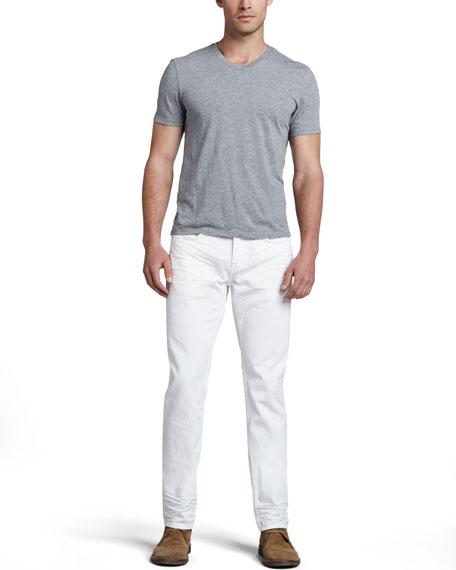 Kane White Jeans