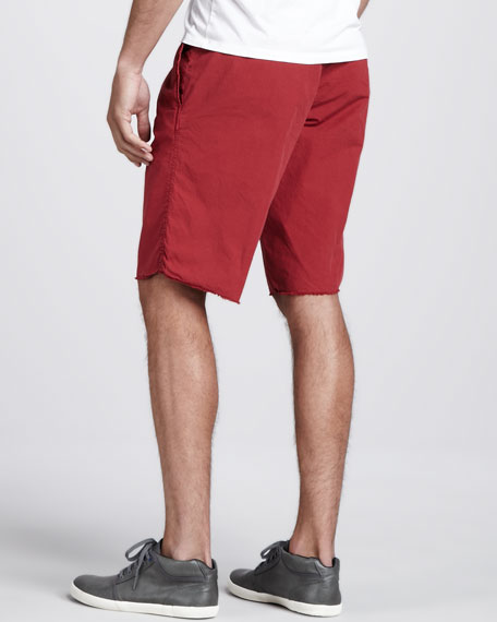 Seaside Ripstop Shorts, Red