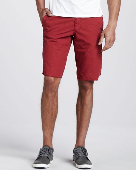 Original Paperbacks Seaside Ripstop Shorts, Red