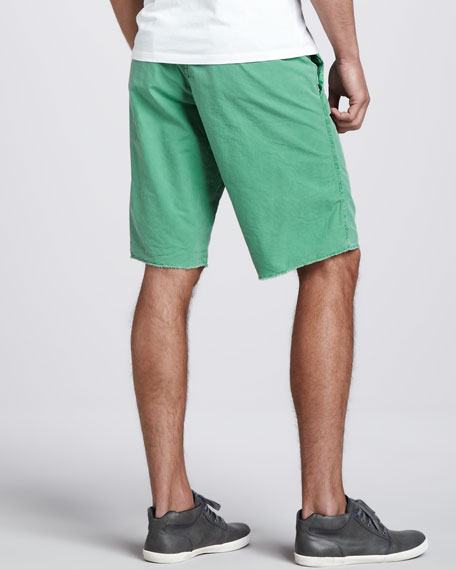 Seaside Ripstop Shorts, Grass