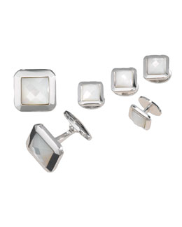 Jan Leslie Cufflinks and Stud Set