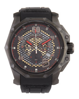 Orefici Watches E.J. Viso Limited Edition Watch, Black