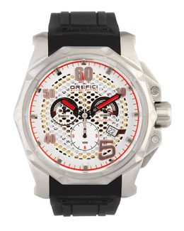 Orefici Watches E.J. Viso Limited Edition Watch, Stainless Steel/Black
