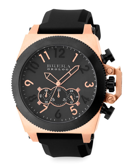 Militare Chronograph Watch, Black