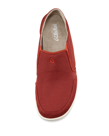 Nohea Mesh Slip-On Sneaker, Red