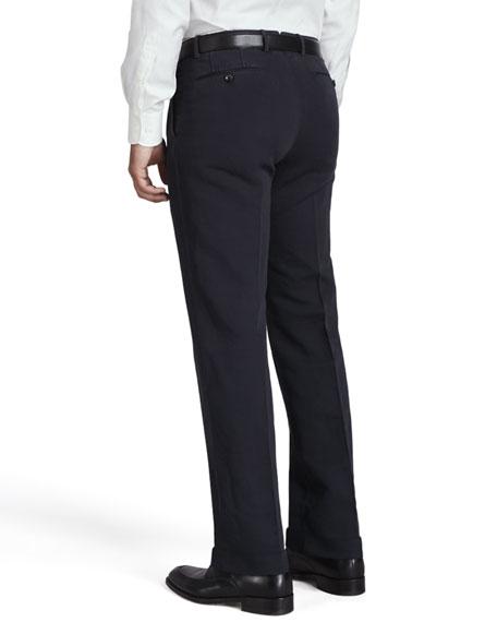 Straight-Leg Chino Pants, Navy