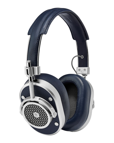 Master & Dynamic MH40 Over-Ear Headphones, Navy