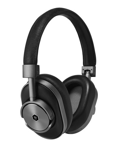 MW60 Wireless Over-Ear Headphones, Black/Gunmetal