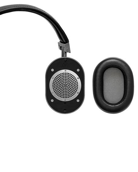 MW60 Wireless Over-Ear Headphones, Black/Gunmetal