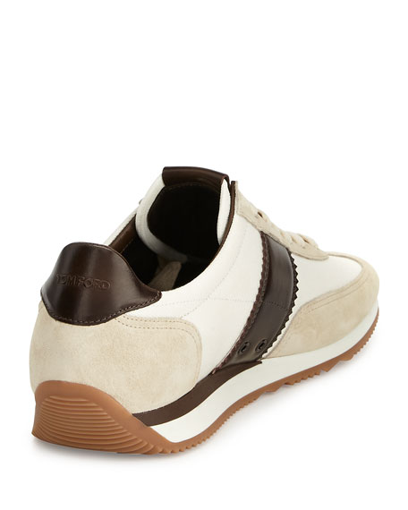 Men's Orford Colorblock Trainer Sneakers, Brown
