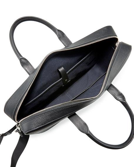 Cadogan Leather Document Case, Black