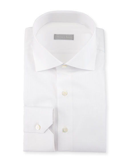 Solid-Color Dress Shirt