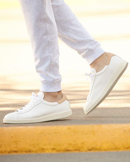 Men's Apollo Leather Sneaker, White