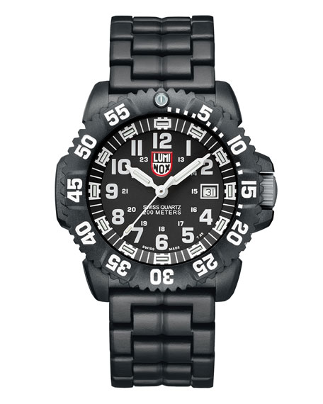 Luminox 44mm Navy SEAL 3050 Series Colormark Watch,