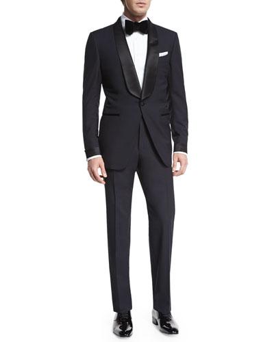 O'Connor Base Shawl-Collar Tuxedo  Navy