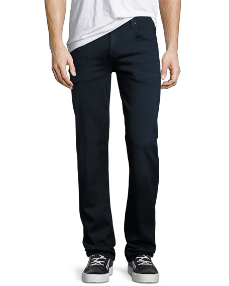 Image 1 of 3: 7 for all mankind Men's Luxe Sport: Slimmy Blue Jeans