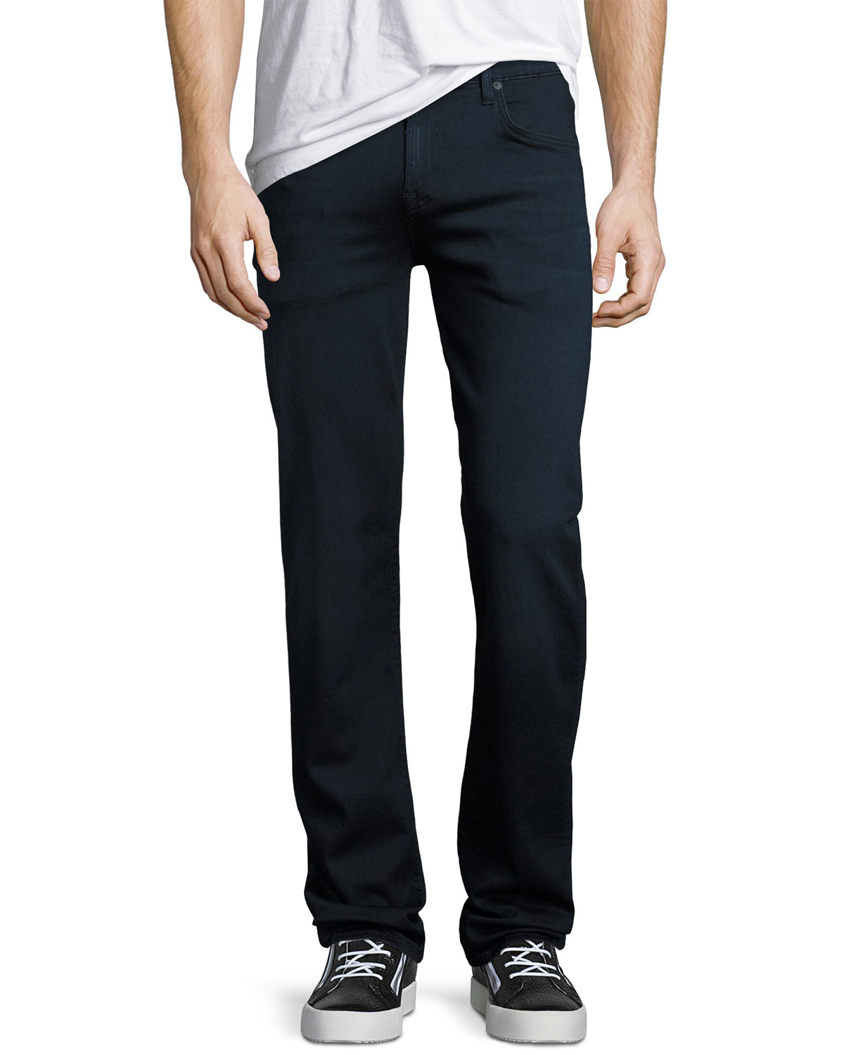 7 for all mankind Men's Luxe Sport: Slimmy Blue Jeans