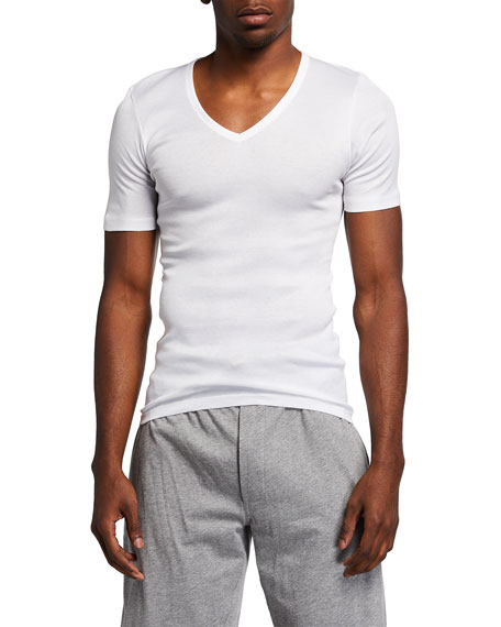 Cotton Pure V-Neck T-Shirt