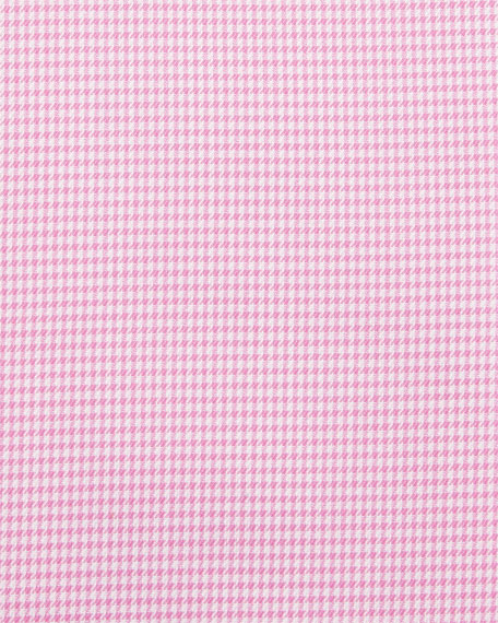Contemporary-Fit Houndstooth Dress Shirt, Pink