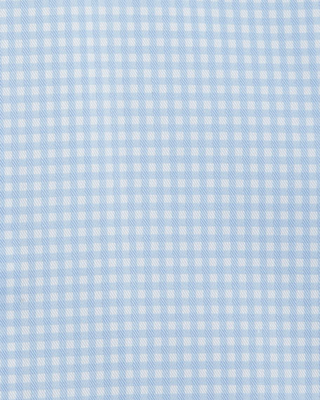 Image 2 of 2: Contemporary-Fit Gingham Check Dress Shirt