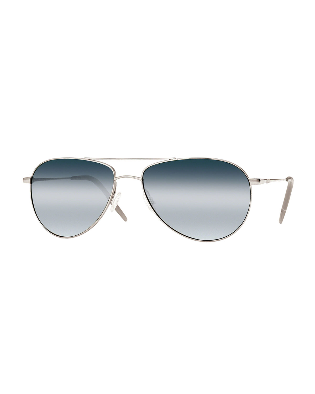 Oliver Peoples Benedict 59 Aviator Sunglasses