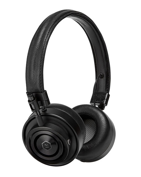 MH30 FOLDABLE LEATHER ON-EAR HEADPHONES