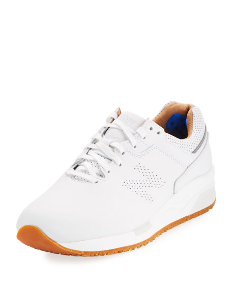 21f2f2bdd98c new balance white leather sneakers new balance tenis – Red Procesal