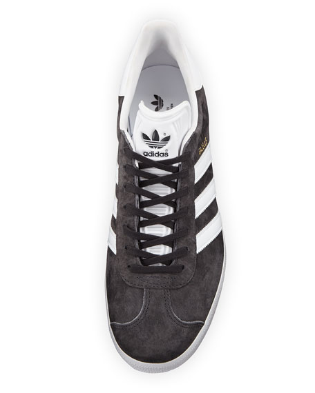 Men's Gazelle Original Suede Sneaker, Gray