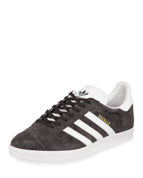 men's adidas black gazelle 70s trainers nz