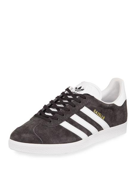 Adidas Men's Gazelle Original Suede Sneaker, Gray