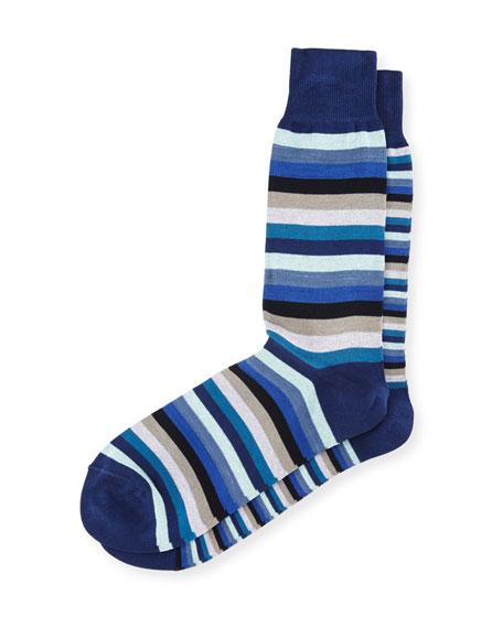 Odd-Striped Socks