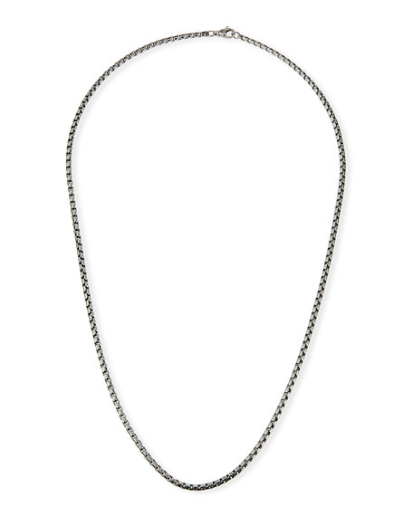 David Yurman 3.6mm Box Chain Necklace