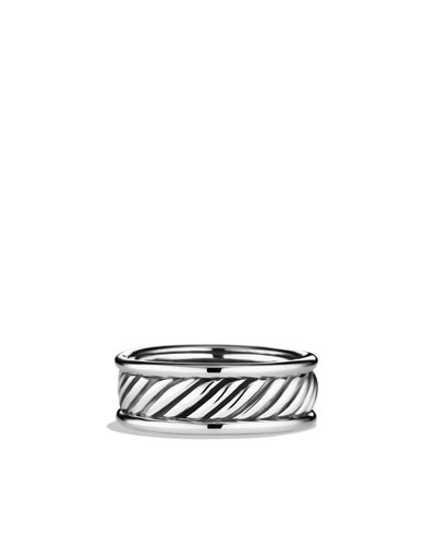 David Yurman Cable Band Ring with Gold