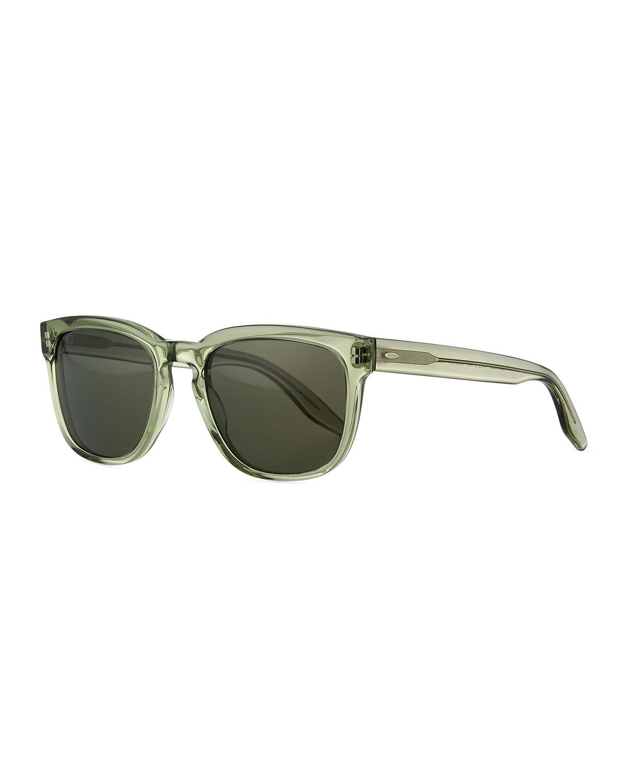 1fc3505007d Barton Perreira Men s Coltrane Square Acetate Polarized Sunglasses ...