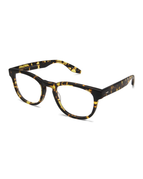 Men's Byron Universal Fit Square Optical Frames, Matte Heroine Chic