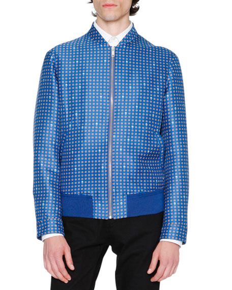 Alexander McQueen Bomber Jacket, Jeans, Shirt, Belt, &