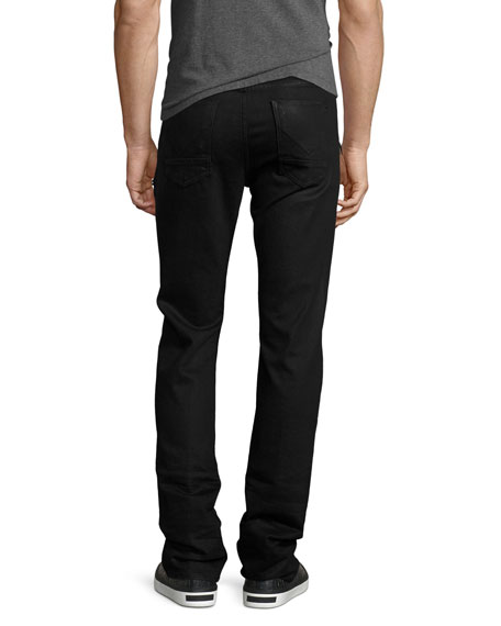 Broderick Slouchy Skinny Jeans, Black