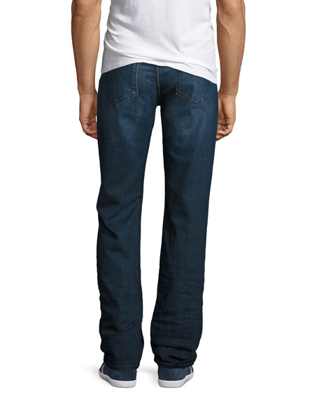 The Classic Straight-Leg Stretch-Denim Jeans, Blue
