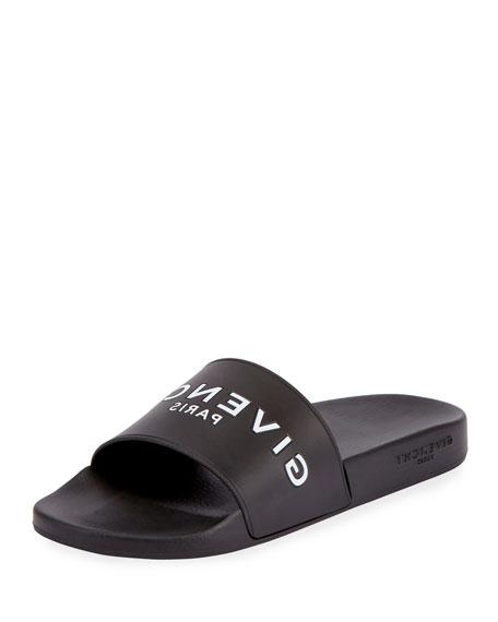 Givenchy BLK LOGO SLIDE