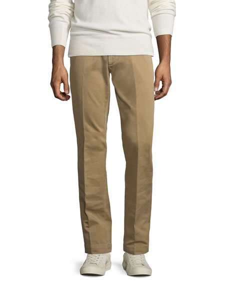 TOM FORD Classic Chino Pants, Tan