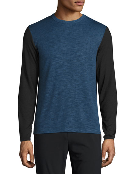 Billy Anemone Contrast-Sleeve T-Shirt