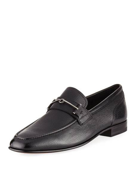 Brignant Leather Horsebit Loafer