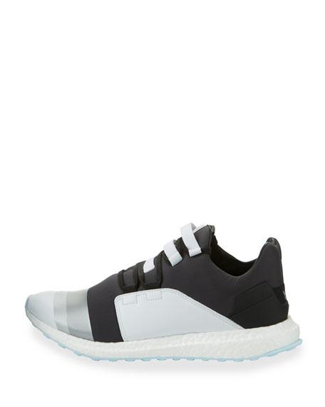 Kozoko Colorblock Low-Top Sneaker, Black/Silver